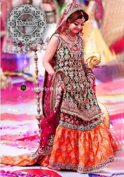 STYLE LOFT.PK Kashee's Boutique Bridal Collection Gharara 3 PIECE