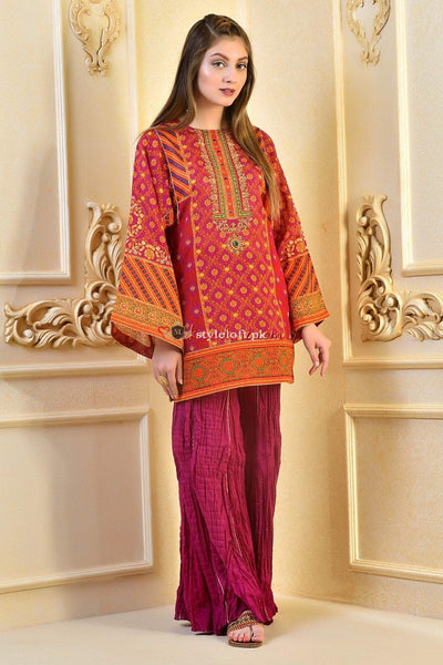 Kayseria Lawn Collection 2019 3Pc Embroidered C-216