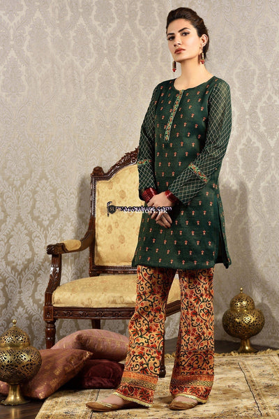 Kayseria Linen Embroidered 2Piece KS-216