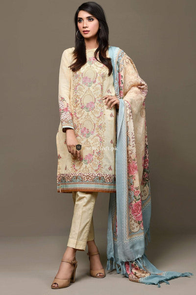 Kayseria Spring Summer Lawn Collection 2019 3 Piece Suit KY-11312