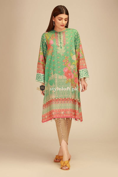 Khaadi Embroidered Lawn Collection 2019 3Pc Suit PV-18405