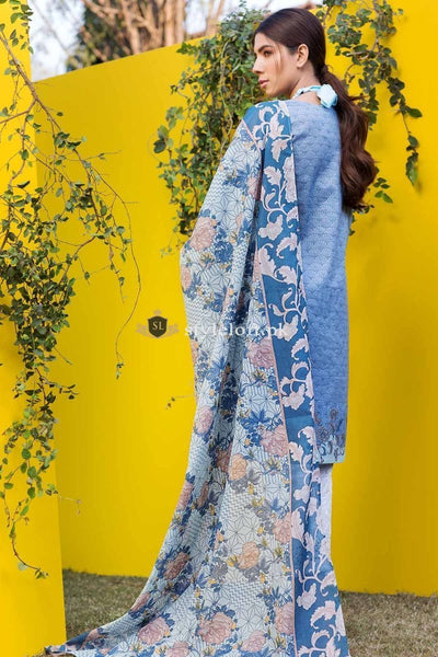 Khaadi Embroidered Lawn Collection 2019 3Piece KH-1809