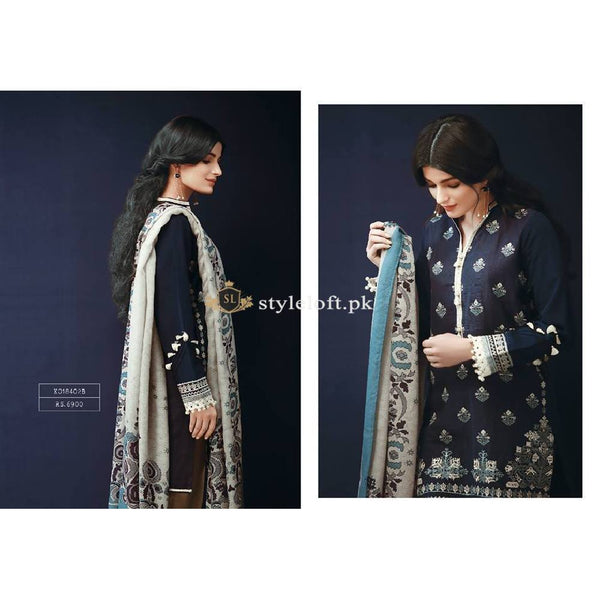 Khaadi Winter 2018 3Piece KH-18402B