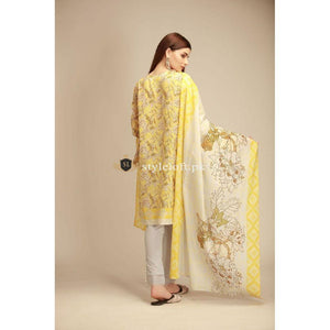 Khaadi Winter-2018 Vol.1 CB-1804B-Yellow