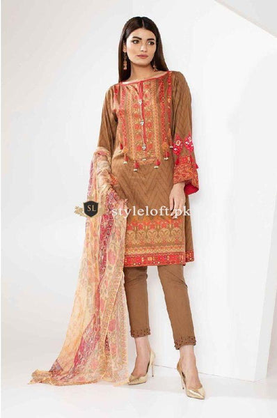 Khaadi Winter-2018 Vol.1 E-18304A