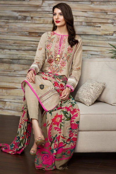 STYLE LOFT.PK Khaadi Winter Best Seller Embroidered Unstitched 3PC Suit K17505