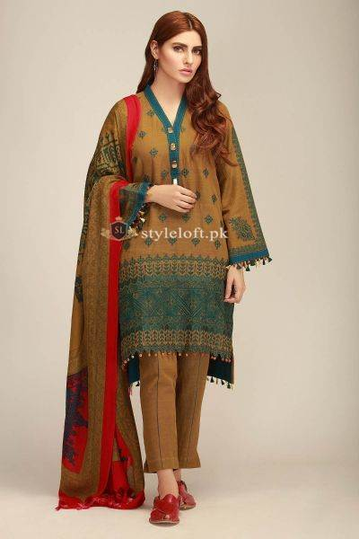 Khaadi Winter Collection-2018 3Piece KH-1901