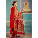 Khaadi Winter Collection 3Piece KH18102-Red