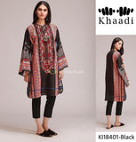 Khaadi Winter Collection 3Piece KI-18401-Black