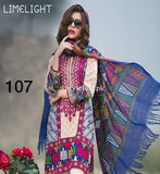 Lime Light Lawn Collection 2019 3Pc Embroidered LL-18