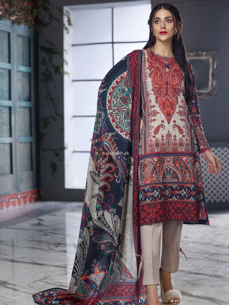 Lime Light Lawn Collection 2019 3Pc Embroidered LL-19