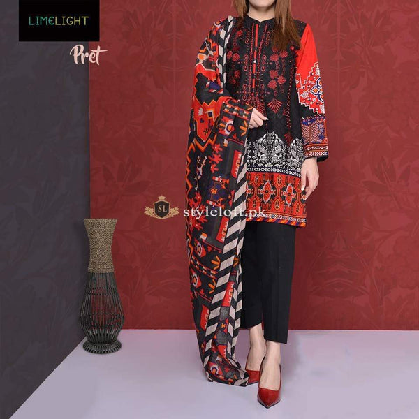 STYLE LOFT.PK Limelight Lawn Collection 2019 3Piece Unstitched Suit LL-1908