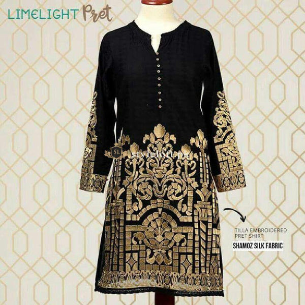 Limelight Pret Shamoz Silk Fabric 2Piece