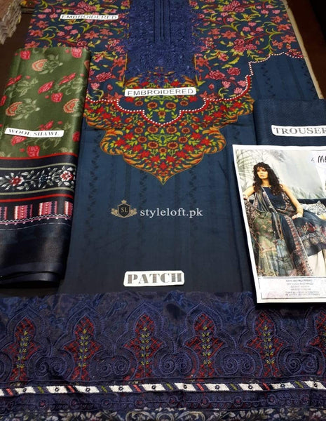STYLE LOFT.PK Maria B Embroidered Linen Collection 2019 M.Prints MPT-704-A