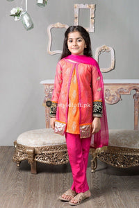 Maria.B Formal Wear 3Piece Kids Collection MKS-162