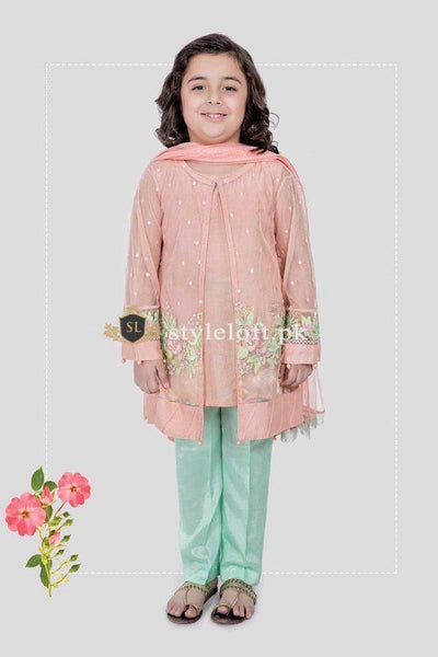 Maria.B Kids Chiffon Collection 3Piece MKS-200
