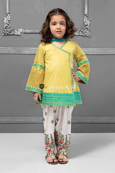 STYLE LOFT.PK Maria B Kids Collection Lawn Embroidered Two Piece Suits MKD-231