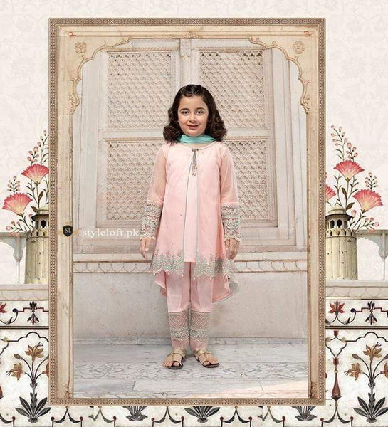 STYLE LOFT.PK Maria.B Kids Eid Collection Unstitched 3 Piece Suit MKD-237
