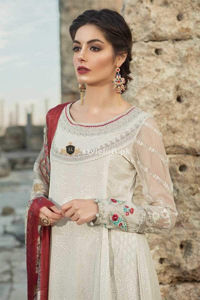 STYLE LOFT.PK Maria B Summer Lawn Collection 2019 3Piece Suit D-1911-A