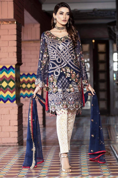 STYLE LOFT.PK Maryam's Gold Luxury Lawn Collection 3Piece Suit Gold MG-29
