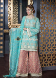 Maryum 'N Maria Chiffon Collection Unsttiched 3Piece Suit MM-1901