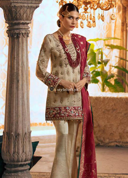 STYLE LOFT.PK Maryum N Maria Embroidered Unstitched 3 Piece Suit SMM19LC 08 Pien-Luxury Collection