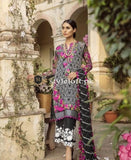 Mina Hassan Chiffon Collection 2018 – Black