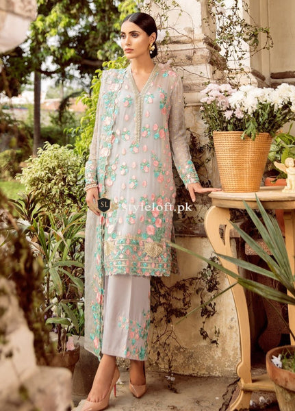 Mina Hassan Chiffon Collection 2018 – Gul Bahar