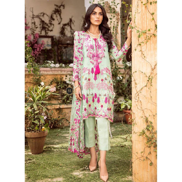 Mina Hassan Chiffon Collection 2018 – Nafeesa