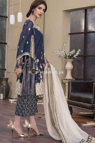 STYLE LOFT.PK Motifz Embroidered Luxury Festive Chiffon Collection 2019 D-2146