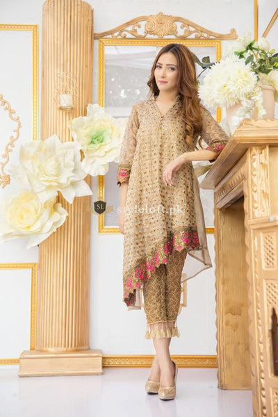Nakooshl Lawn Embroidered Collection 2019 2Pc Dress