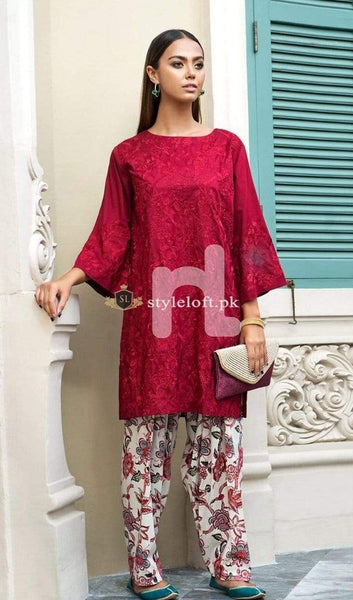 STYLE LOFT.PK Nishat Festive Lawn Collection Unstitched 2Piece Suit PE19-42