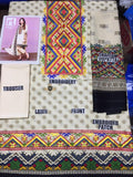 Nishat Lawn Collection 2019 3Pc Embroidered NS-98