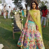 Nomi Ansari Bridal Chiffon Unstitched Suit by Hania Amir