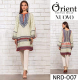 STYLE LOFT.PK Orient Textile Embroidered Linen Unstitched 3 Piece Suit NRD-007