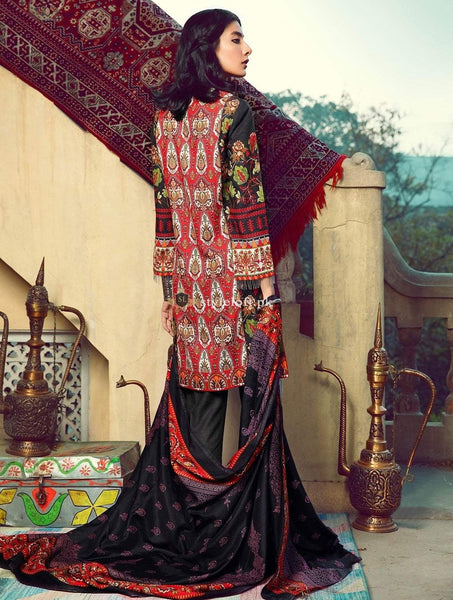 Raj Bari Lawn Collection 2019 3Pc Embroidered RB-02A
