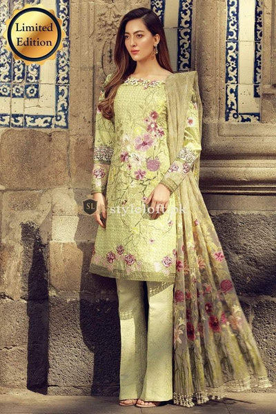 Rungrez Lawn Collection 2019 3Pc Embroidered RR-W3