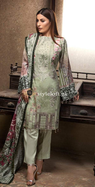 9a3f932d8e Salitex Embroidered Lawn Collection 2019 3Pc Suit WK-221 Salitex  Embroidered Lawn Collection 2019 3Pc Suit WK-221