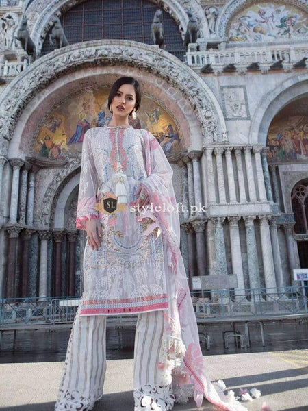 STYLE LOFT.PK Sana Safinaz Embroidered Lawn 2019 Collection 3Piece Suit 11A