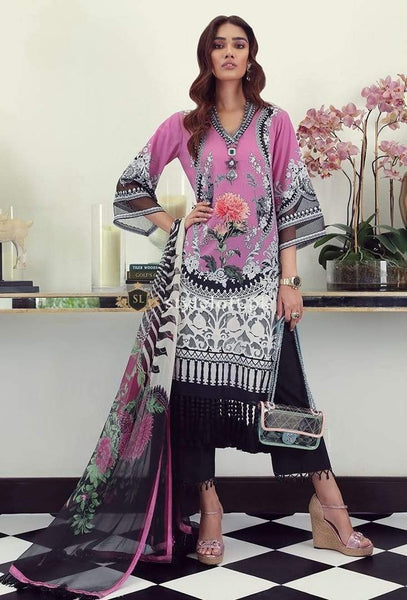 STYLE LOFT.PK Sana Safinaz Lawn Collection 2019 3Piece Suit M19-04A