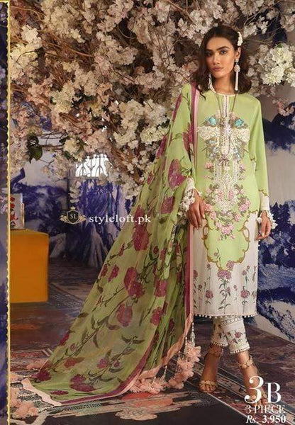 9a737b7217 PK Sana Safinaz Muzlin Lawn Collection 2019 Unstitched 3Piece Suit SS-3A ...