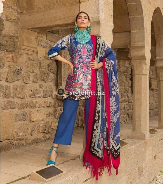 Sana Safinaz Winter Vol.1 SS-13-Blue