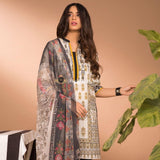 STYLE LOFT.PK Sapphire Lawn Collection 2019 3Pc Suit with Chiffon Dupatta Orchid-B