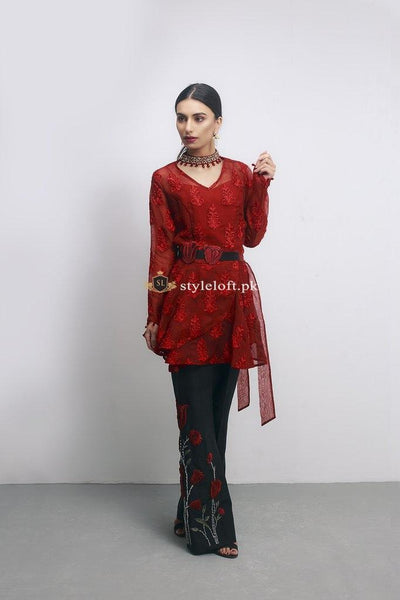Shiza Hassan Embroidered Lawn 2Pc Shirt & Trouser