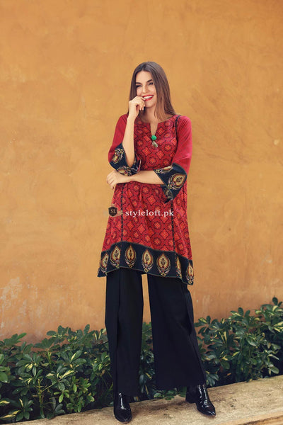 So Kamal Embroidered Lawn Unstitched 2Pc Suit DP-833