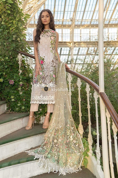 STYLE LOFT.PK Sobia Nazir Embroidered Lawn Collection 2019 3Piece Design 1-A