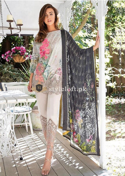 82c44fb860 Sobia Nazir Lawn Collection 2019 3Pc Embroidered SN-1B | 1650.00 PKR ...