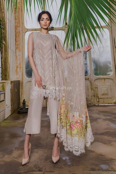 STYLE LOFT.PK Sobia Nazir Lawn Collection 2019 Unstitched 3 Piece Suit-3B