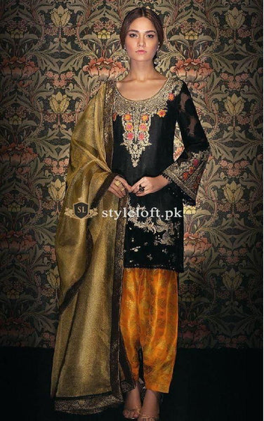 Tena Durrani Linen 2Piece Midnight-Bloom