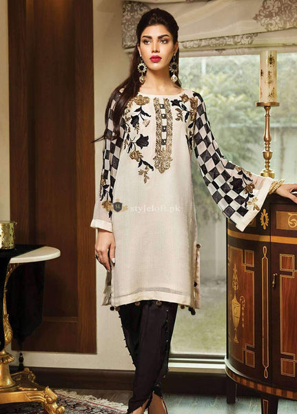 STYLE LOFT.PK XENIA Linen Embroidered Unstitched 2 Piece Suit XE18-P3-05